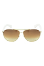 Marc Jacobs MJ 475/S 550BA - Gold/White by Marc Jacobs for Women - 63-12-135 mm Sunglasses