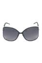 Gucci GG 4250/S F0GVK - Shiny Black by Gucci for Women - 60-17-115 mm Sunglasses