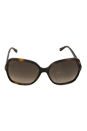 Jimmy Choo LORI/S 6UKJ6 - Havana by Jimmy Choo for Women - 58-17-135 mm Sunglasses