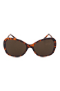 Versace VE 4271B 5074/73 - Havana by Versace for Women - 58-17-135 mm Sunglasses