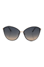 Tom Ford TF 320 Penelope 28B - Shiny Rose Gold/Gradient by Tom Ford for Women - 59-15-130 mm Sunglasses