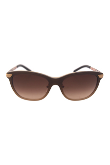 Burberry BE 4169Q 3426/13 - Brown Gradient by Burberry for Women - 57-18-140 mm Sunglasses