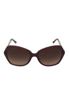 Burberry BE 4193 3014/13 - Bordeaux by Burberry for Women - 57-17-135 mm Sunglasses