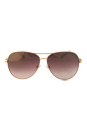 Jimmy Choo Lexie/S EJUQH - Rose Gold Glitter by Jimmy Choo for Women - 61-12-135 mm Sunglasses