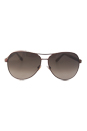 Jimmy Choo Lexie/S EJWHA - Bronze Glitter by Jimmy Choo for Women - 61-12-135 mm Sunglasses