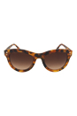 Versace VE 4291 5137/13 - Matte Light Havana/Brown Shaded by Versace for Women - 53-22-140 mm Sunglasses