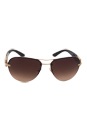 Versace VE 2159B 1252/13 - Pale Gold by Versace for Women - 59-14-135 mm Sunglasses