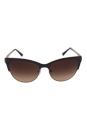 Giorgio Armani AR 6019 3063/13 - Pale Gold/Matte Brown by Giorgio Armani for Women - 57-17-145 mm Sunglasses