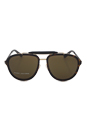 Marc Jacobs MJ 592/S 546A6 - Havana Gold/Black by Marc Jacobs for Women - 57-17-140 mm Sunglasses