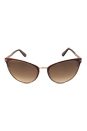 Tom Ford FT0373 Nina 48F - Dark Brown by Tom Ford for Women - 56-21-135 mm Sunglasses