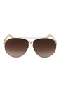 Tom Ford FT0374 Eva 28G - Rose Gold by Tom Ford for Women - 61-10-140 mm Sunglasses