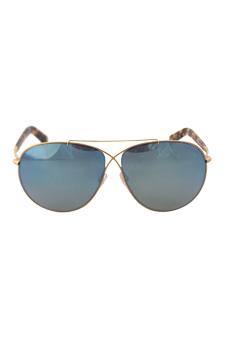 Tom Ford FT0374 Eva 28X - Rose Gold/Blue by Tom Ford for Women - 61-10-140 mm Sunglasses