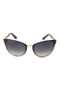 Tom Ford FT0373 Nina 01B - Black by Tom Ford for Women - 56-21-135 mm Sunglasses
