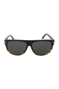 Tom Ford FT0375 Kristen 05R - Black/Green Polarized by Tom Ford for Women - 61-10-140 mm Sunglasses