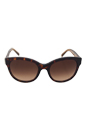 Burberry BE 4187 3506/13 - Dark Havana by Burberry for Women - 54-19-140 mm Sunglasses