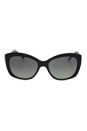Burberry BE 4164 3001/11 - Black by Burberry for Women - 55-17-135 mm Sunglasses