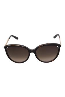 Christian Dior Dior Metaleyes 1/S 6NYHA - Dark Havana by Christian Dior for Women - 57-17-140 mm Sunglasses