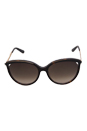 Christian Dior Dior Metaleyes 1/S 6NYHA - Dark Havana by Christian Dior for Women - 57-17-140 mm Sunglasses