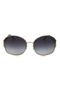 Michael Kors MK1004B Palm Beach - Gold by Michael Kors for Women - 58-16-135 mm Sunglasses