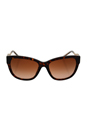 Burberry BE 4203 3002/13 - Dark Havana by Burberry for Women - 57-18-140 mm Sunglasses