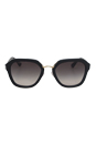 Prada SPR 25R 1AB0A7 - Black by Prada for Women - 55-21-140 mm Sunglasses