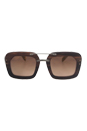 Prada SPR 30R UBT4O2 - Ebony Malabar by Prada for Women - 51-25-135 mm Sunglasses
