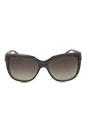 Emporio Armani AR 8042 5291/8E - Striped Green by Giorgio Armani for Women - 57-15-140 mm Sunglasses