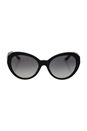 Versace VE 4306Q GB1/11 - Black/Grey by Versace for Women - 56-19-140 mm Sunglasses