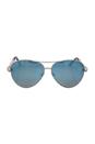 Roberto Cavalli RC976S Syrma 16X - Shiny Palladium/Blue Mirror by Roberto Cavalli for Women - 61-12-135 mm Sunglasses