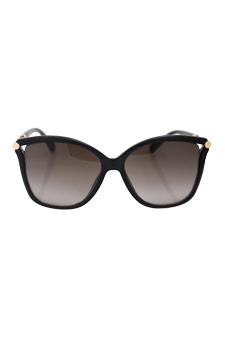 Jimmy Choo Tatti/S 1VDHA - Dark Gray by Jimmy Choo for Women - 58-15-140 mm Sunglasses