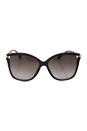 Jimmy Choo Tatti/S 1VDHA - Dark Gray by Jimmy Choo for Women - 58-15-140 mm Sunglasses