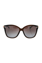 Jimmy Choo Tatti/S 8J9TF - Transparent Brown by Jimmy Choo for Women - 58-15-140 mm Sunglasses