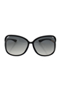 Tom Ford FT0076 Raquel 199 - Black by Tom Ford for Women - 63-14-120 mm Sunglasses