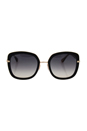 Jimmy Choo Glenn/S QBE9C - Black Grey by Jimmy Choo for Women - 52-23-140 mm Sunglasses