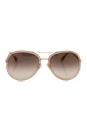 Jimmy Choo Tora/S QBQNH - Glitter Pink by Jimmy Choo for Women - 57-18-140 mm Sunglasses