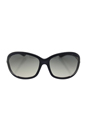 Tom Ford FT0008 Jennifer B5 - Dark Grey by Tom Ford for Women - 61-16-120 mm Sunglasses