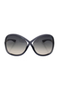 Tom Ford FT0009 Whitney B5 - Dark Grey by Tom Ford for Women - 64-14-110 mm Sunglasses