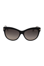 Tom Ford FT0430 Lily 05D - Black Polarized by Tom Ford for Women - 56-16-140 mm Sunglasses