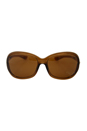Tom Ford FT0008 Jennifer 48H - Brown Polarized by Tom Ford for Women - 61-16-120 mm Sunglasses