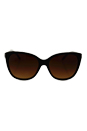 Versace VE 4281 GB1/13 - Black/Brown by Versace for Women - 57-17-140 mm Sunglasses