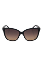 Gucci GG 3645/S D28ED - Shiny Black by Gucci for Women - 56-15-135 mm Sunglasses