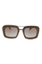 Prada PR 30RS IAM-4O0 - Nut Canaletto/Brown by Prada for Women - 51-25-135 mm Sunglasses