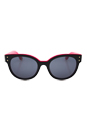 Juicy Couture JU 581/S 0RTF R6 - Black Pink by Juicy Couture for Women - 52-20-135 mm Sunglasses