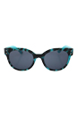 Juicy Couture JU 581/S 0RVI R6 - Havana Aqua by Juicy Couture for Women - 52-20-135 mm Sunglasses