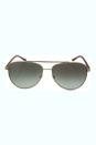Michael Kors MK 5007 10432L Hvar - Gold Wood by Michael Kors for Women - 59-14-135 mm Sunglasses