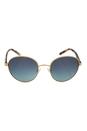 Michael Kors MK 1007 10934S Sadie lll - Gold/Ocean by Michael Kors for Women - 52-19-135 mm Sunglasses