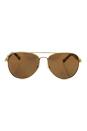 Michael Kors MK 1003 10242T Fiji - Gold Polarized by Michael Kors for Women - 58-14-135 mm Sunglasses