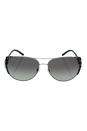 Michael Kors MK 1005 105911 Sadie I - Black Silver/Grey by Michael Kors for Women - 59-15-135 mm Sunglasses