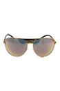 Michael Kors MK 1006 1057R5 Sadie II - Black Gold Leopard-Black /Gold by Michael Kors for Women - 62-14-125 mm Sunglasses