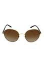Michael Kors MK 1007 100413 Sadie III - Gold/Brown by Michael Kors for Women - 52-19-135 mm Sunglasses